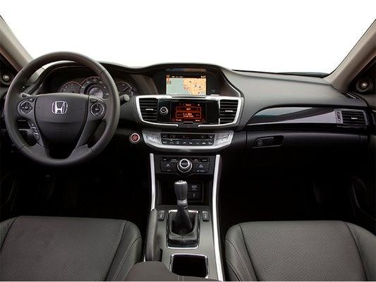 Honda Accord Ex L >> 2014 Honda Accord Ex L V6 Navigation